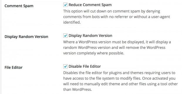 wordpress tweaks